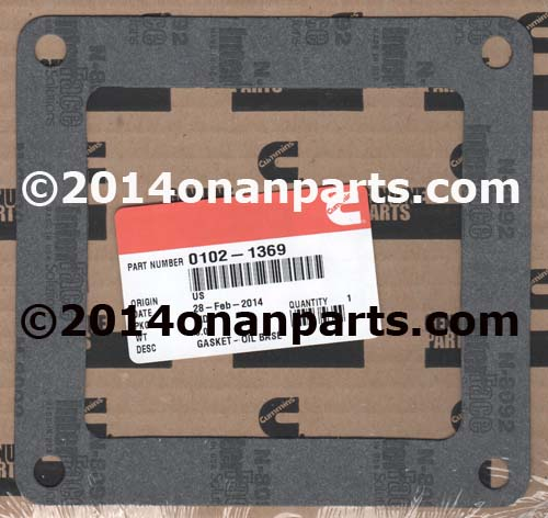 102-1369 Oil Base Gasket CCK/CCKA Replaces 102-0158